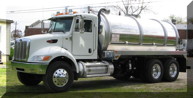 Truck Mounted Septic Unit